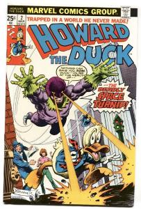 HOWARD THE DUCK #2 1976-MARVEL-FRANK BRUNNER-comic book