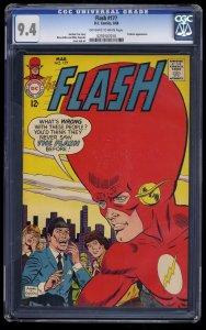Flash #177 CGC NM 9.4 Off White to White