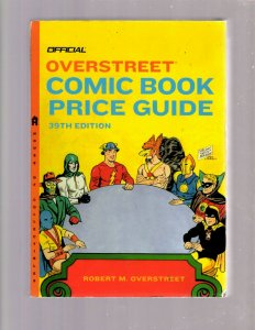 Overstreet Comic Book Price Guide 39th Edition JSA Cover Justice Society JK7