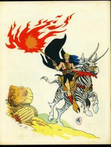 Star-Studded Fanzine #17 1971- Warrior of Llarn- Alan Weiss FN/VF