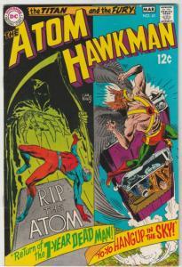 Atom and Hawkman #41 (Feb-69) NM- High-Grade The Atom, Hawkman
