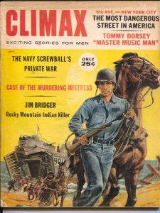 Climax 9/1960-Tommy Dorsey-Jim Bridger-cheesecake-Norman Saunders-VG
