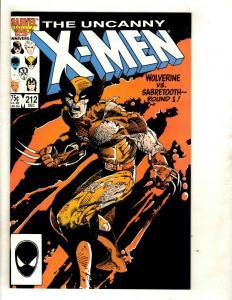 (Uncanny) X-Men # 212 NM Marvel Comic Book Cyclops Beast Iceman Wolverine GK4