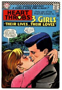 HEART THROBS #107 comic book 1967 DC-TORRID ROMANCE-high grade