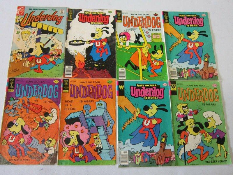 Underdog comic lot 8 different
