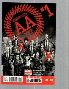 11 Marvel Comics Avengers Arena #1 2 3 4 5 6 Sanction 1 2 3 4 + Academy 1 J448
