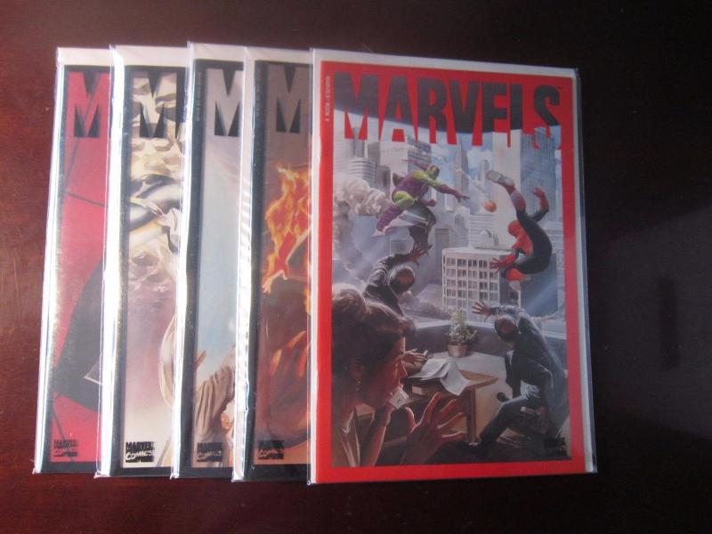 Marvels #0 to #4 - VF - 1994