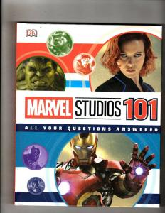 Marvel Studios 101 All Your Questions Answered HARDCOVER DK Book Hulk Thor J345