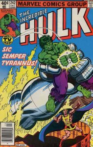 Incredible Hulk, The #242 (Newsstand) FN; Marvel | save on shipping - details in
