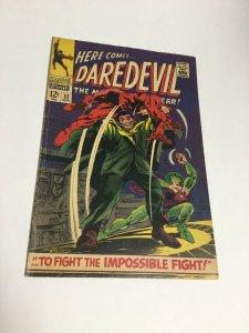 Daredevil 32 Fn Fine 6.0 Marvel Comics Silver Age