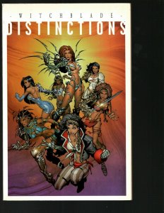 Witchblade: Distinctions Vol. # 1 Top Cow Comic Book TPB Graphic Novel J402