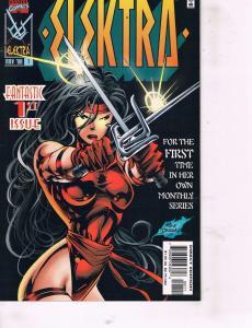 7 Elektra Marvel Comic Books # -1 1 (2 Different Covers) 2 4 5 6 Daredevil TW25