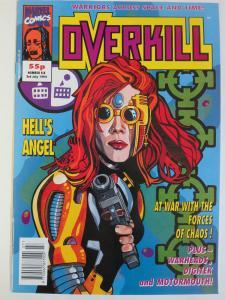 Overkill #6 (Marvel July 3 1992 ) Andy Lanning Dan Abnett Nick Vince Gascoine ++