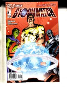 Lot Of 8 DC Comic Books Stormwatch # 1 2 3 4 19 + Captain Atom # 1 2 3 MF20