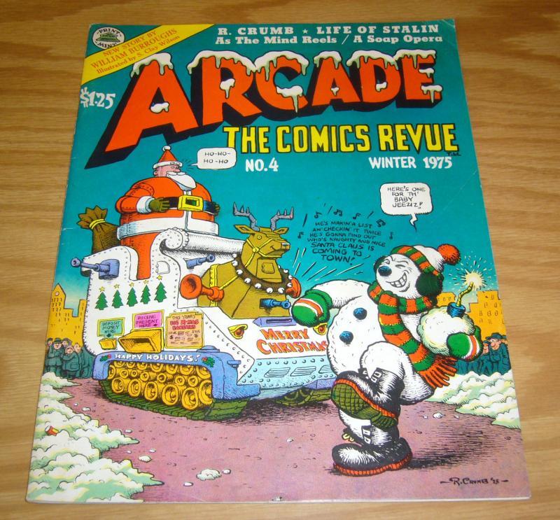 Arcade: the Comics Revue #4 FN (1st) robert crumb - art spiegelman - clay wilson