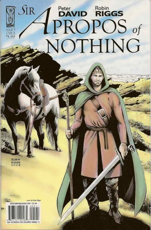 Sir Apropos of Nothing #5A VF/NM; IDW | save on shipping - details inside