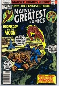 Marvel's Greatest Comics #79 ORIGINAL Vintage 1978 Fantastic Four