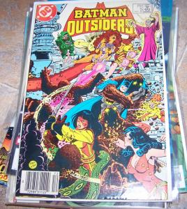 BATMAN AND THE OUTSIDERS #5 TEEN TITANS CROSSOVER FEARSOM FIVE+ PEREZ WOLFMAN
