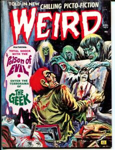 Weird Vol. 7 #3-1973-Eerie Pubs-violent horror-bondage torture-dismemberment-VF