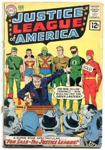 Justice League Of America #8-FLASH-GREEN LANTERN FLASH G