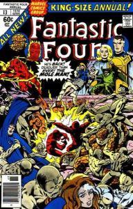 Fantastic Four (1961 series) Annual #13, VF-