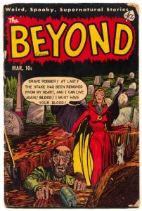 Beyond #19 1953- Pre-code Ace Horror Golden Age- vampire G