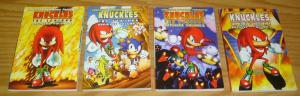 Sonic the Hedgehog Presents Knuckles the Echidna Archives #1-4 VF/NM set lot 2 3