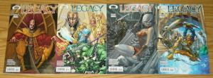 Legacy #1-4 VF/NM complete series - image comics set lot 2 3