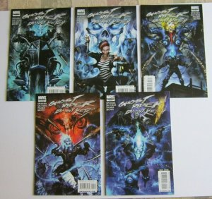 Ghost Rider Danny Ketch #1-5 Full Set High Grade VF/NM Marvel Comics 2008