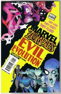 MARVEL ZOMBIES EVIL EVOLUTION #1, NM-, Wolverine, Apes, 2010, more MZ in store