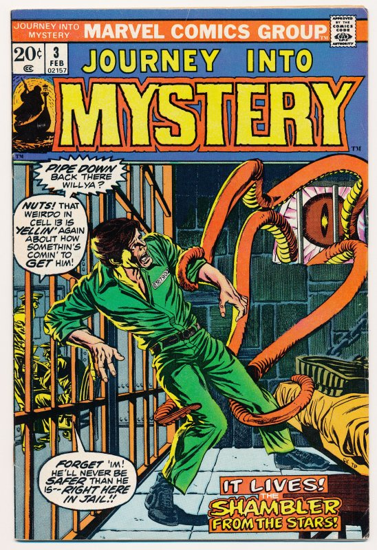 Journey into Mystery (1972 2nd series) #3 FN+