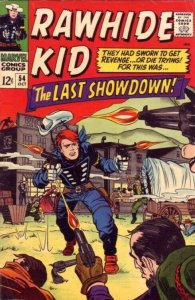 Rawhide Kid  54 strict FN+ 6.5 Stan Lee Mighty Marvel Westerns tons just posted