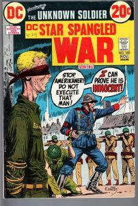 STAR SPANGLED WAR STORIES #165-1972-DC WAR COMIC-BRONZE AGE-VG/FN VG/FN