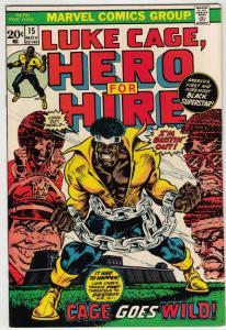 Luke Cage Hero for Hire #15 (Nov-73) NM- High-Grade Luke Cage
