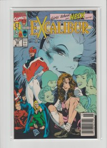 Excalibur #32 (1990) VF/NM 9.0 Newsstand Edition!!