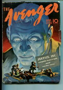 AVENGER-#1-SEPT 1939-PULP-ACTION-MYSTERY-SOUTHERN STATES PEDIGREE-fn minus