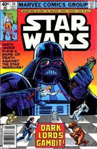 Star Wars #35 VF/NM; Marvel   save on shipping - details inside