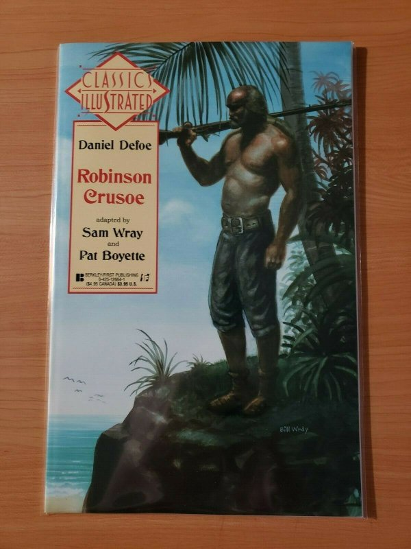 Classics Illustrated #23 Daniel Defoe Robinson Crusoe ~ NEAR MINT NM ~ 1991