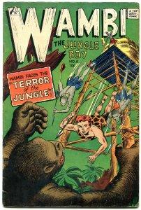 Wambi The Jungle Boy #8 1963- IW Golden Age reprint VG/F