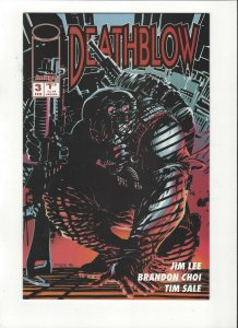 Jim Lee's Deathblow #3 Image Comics Tim Sale Art NM/M