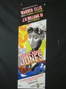 Desolation Jones DC Comics Promo Poster 34x11