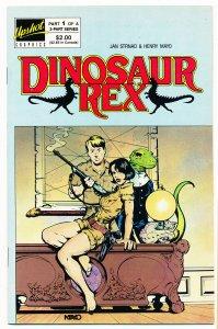 Dinosaur Rex (1987 Upshot) #1-3 VF/NM Complete series