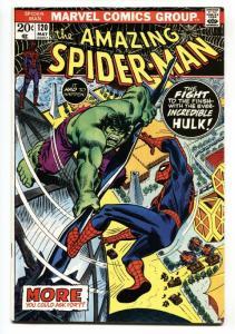 Amazing Spider-man #120 1973- Hulk Battle issue-  VF+
