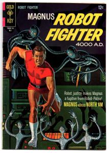 Magnus, Robot Fighter #18 (May 1967, Western Publishing) - Fine