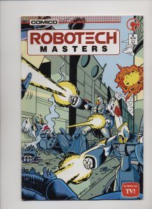 Robotech Masters #5 (1986)