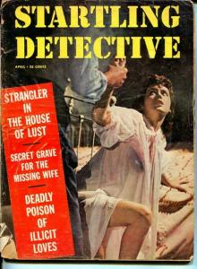 Startling Detective April 1957-Triple Vengeance in West Virginia- True Crime