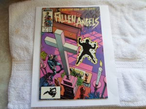 1987 MARVEL COMICS FALLEN ANGELS  #2 IN AN EIGHT ISSUE LIMITED SERIES