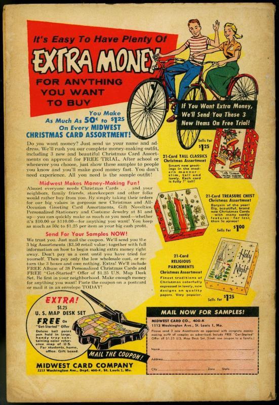 DETECTIVE COMICS #272 1959 BATMAN ROBIN CRYSTAL CREATUR VG