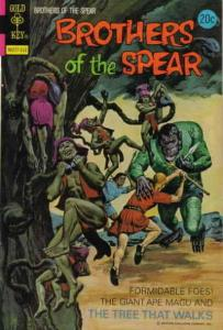 Brothers of the Spear #7 FN; Gold Key | save on shipping - details inside
