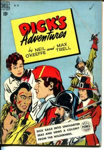 Dick's Adventures- Four Color Comics #245 1945-Dell-newspaper comic strips-VG/FN